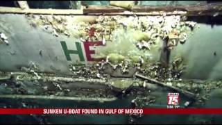 Sunken Nazi Boat Found Near Gulf Coast
