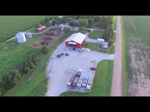 Equipment Tour And Farm Flyover!