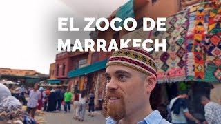 🛒El Zoco de MARRAKECH - Marruecos (2/4)