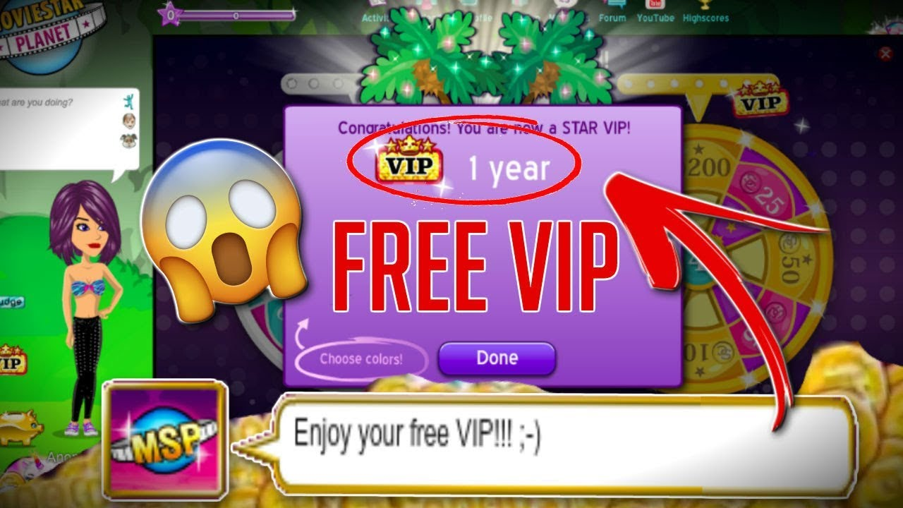 how to get vip on msp for free 2018