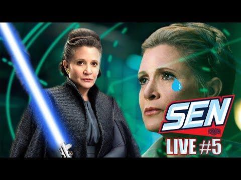 'Star Wars: The Rise of Skywalker' Original Plan Had Leia As A Powerful Jedi - SEN LIVE #5