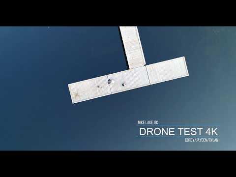 Mike Lake 4K Drone Test