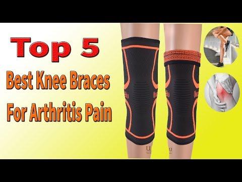 Top 5 Best Knee Braces For Arthritis Pain 2018