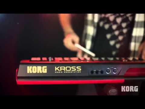 korg kross 88 music workstation keyboard at youtube. Black Bedroom Furniture Sets. Home Design Ideas