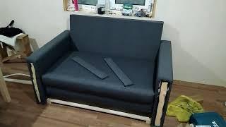 Делаем раскладной диван своими руками