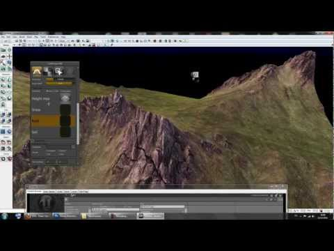 How to import a terrain to UDK