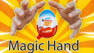 Magic Hand Made a kinder surprise ❤ Funny Trick with clay Play-Doh Cartoon for kids #1 ❤ Octopider ❤