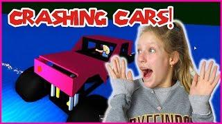 CRASHING CARS IN A SIMULATOR!
