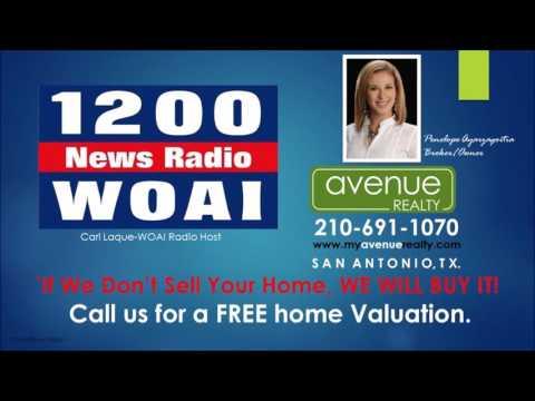 Penelope Ayarzagoitia Avenue Realty LLC/San Antonio, TX. 1200 AM WOAI with Cari Laque