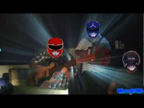 Volaron Los Power Rangers (Editado)