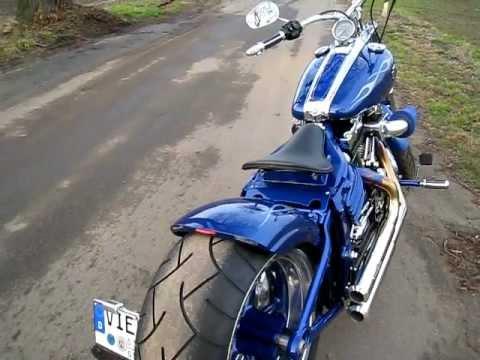 Harley Davidson Rocker C BSL Pipes