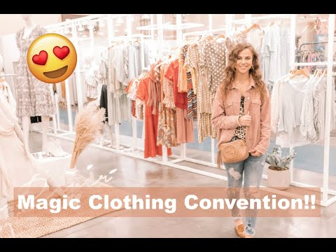 VEGAS MAGIC CLOTHING TRADE SHOW VLOG