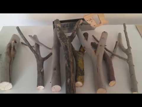 Perchero rustico youtube - Percheros de madera rusticos ...