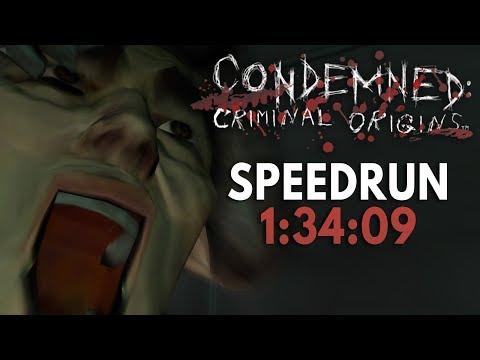 Condemned: Criminal Origins Speedrun In 1:34:09 [Personal Best]
