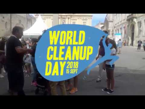WORLD CLEANUP DAY - ARLES