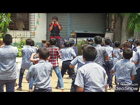 Free Martial arts training for 1 month to children living in slums by shree ram foundation