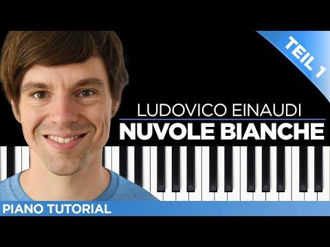 Ludovico Einaudi - Nuvole Bianche - Piano Tutorial - Teil 1