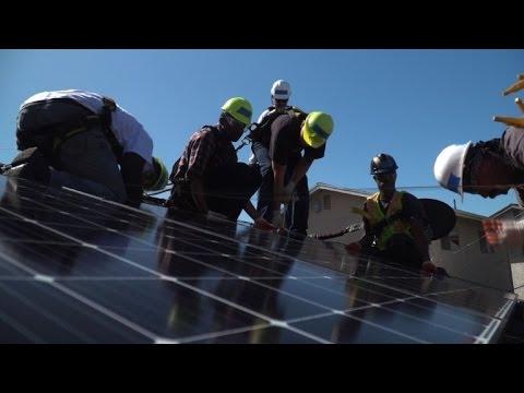 En Californie, l'énergie solaire pour tous