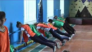 Урок фізкультури  6 клас Юрченка С.П.