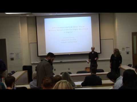 Dr.  Emmons Lecture for the Alexandrian Society at VCU Part 1
