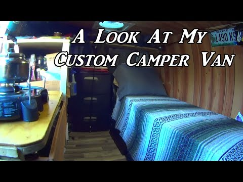 My Simple Custom Camper Van ! Van Life