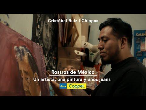 Un artista, una pintura y unos jeans - Rostros de México | Coppel
