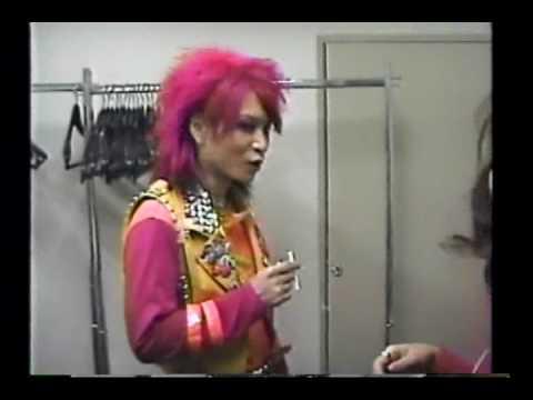 XJAPAN  BackStage YOSHIKI&HIDE