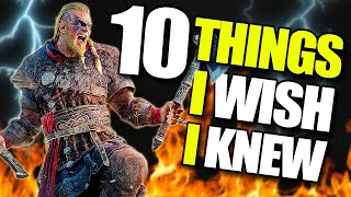 10 Things I Wish I Knew Before Playing Assassin's Creed Valhalla