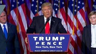 أهم المقتطفات لخطاب فوز ترامب بالرئاسة الأمريكية