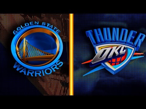 HD: Golden State Warriors VS Oklahoma City Thunder