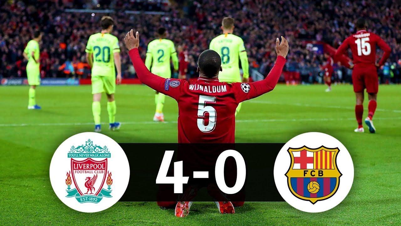 Comment Liverpool a renversé le Barça (Liverpool 4-0 Barça ...
