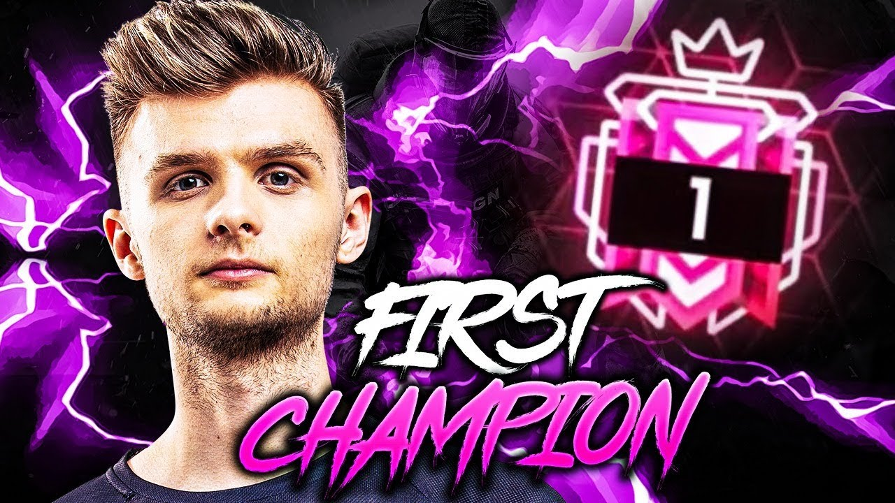 Download FIRST CHAMPION RANK PLAYER - Stream Highlights #1  Rainbow six siege ► Sloppy.Mkers