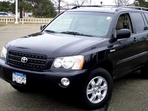 2001 Toyota Highlander Limited - YouTube