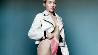 WTF! Miley Cyrus Not Wearing Pants?!