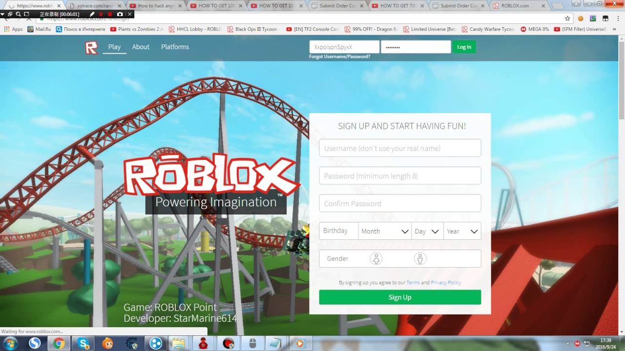 Roblox Passwords With Obc 2018 Roblox Account Hack 2016 Working Faster Or The Obc Account You Can T Get Youtube