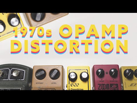 1970's Op-Amp Distortion