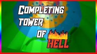Vervollständigung des Turms der Hölle (Roblox)