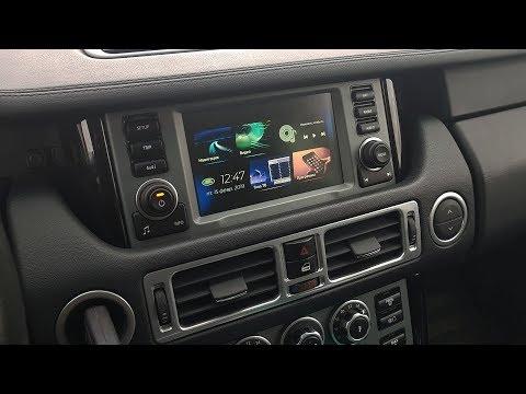 Range Rover 2005-2009 (GVIF Interface) и блок навигации ROiK10 Android 7.1.2