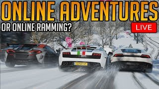 Forza Horizon 4: Online Adventures | MULTIPLAYER MAYHEM LIVE thumbnail