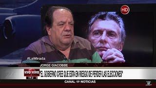 "Jorge Giacobbe en ""La mirada"" de Roberto García - 05/12/16"