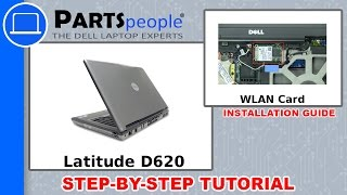 Dell Latitude D620 (PP18L) WLAN Card How-To Video Tutorial