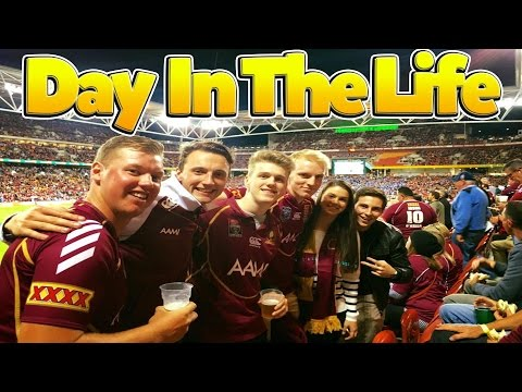 2016 State of Origin Game 2 | Day In The Life |