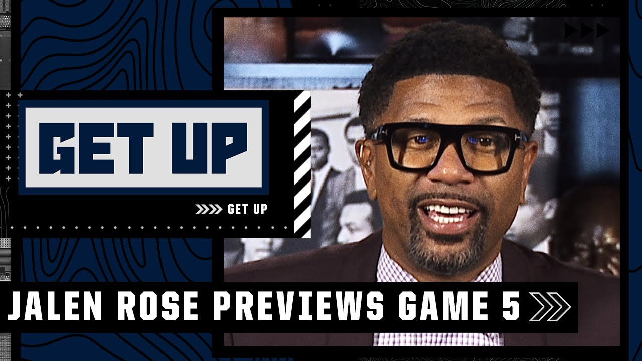 Download The winner of Game 5 will take home the title - Jalen Rose is still picking the Suns | Get Up