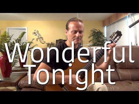 (Eric Clapton) Wonderful Tonight - Michael Marc - Fingerstyle Guitar