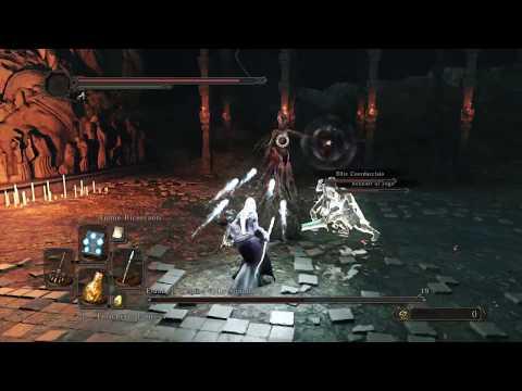 Dark Souls II - DLC Crown of the Sunken King - Elana, the Squalid Queen Boss fight