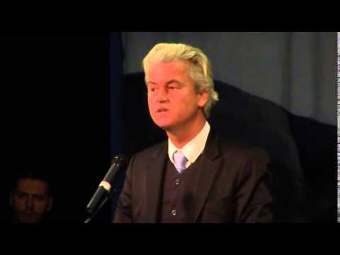 Geert Wilders ~ The Conservative Forum ~ 8-11-2015