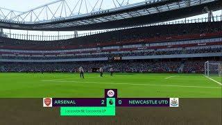 ARSENAL VS NEWCASTLE UNITED 2-0 SCORE PREDICTION #EPL 16/12/2017 - FIFA 18