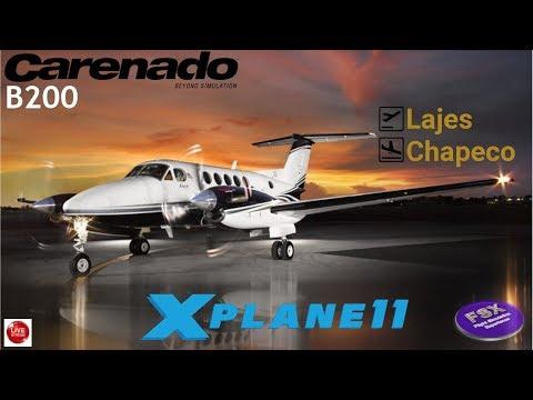 [**XPLANE11**] Tour Beechcraft King Air B200   Lajes ✈ Chapeco