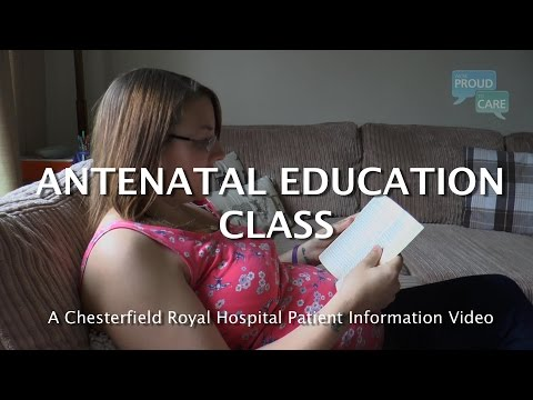 Antenatal Education Class – a guide to pregnancy and caring for your baby