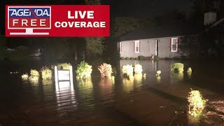 Tropical Storm Florence LIVE COVERAGE - Late Night Update